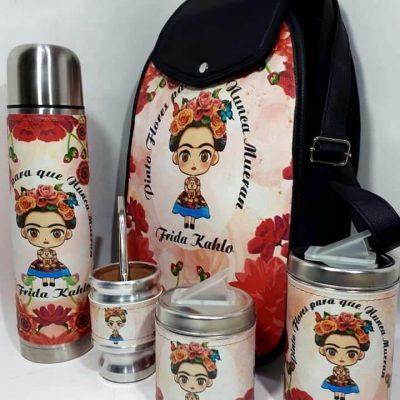 Set matero diseño de Frida Rosa colección FAR