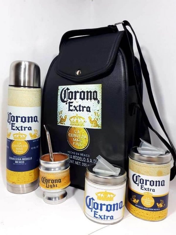 Set matero diseño de cerveza Corona colección FAR