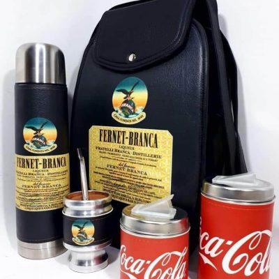 Set matero con diseño de Fernet colección FAR