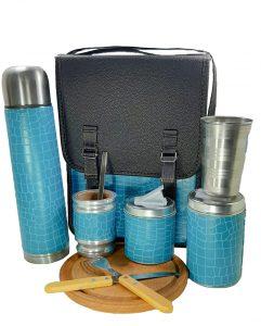 Set matero camping numero 1 color turquesa ventas al mayor
