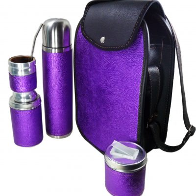 Set matero color Violeta Metalizado colección FAR
