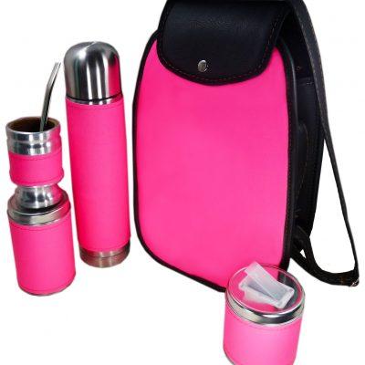 Set matero color Rosa Fluor colección FAR