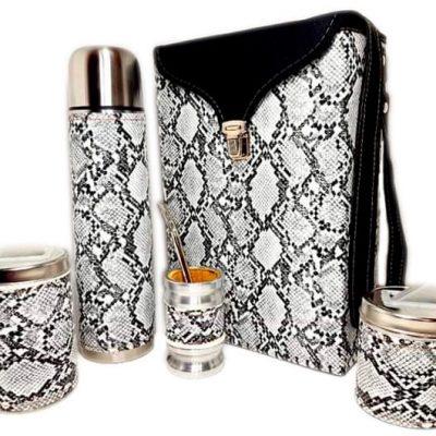 Set matero diseño Boa blanco colección FLOR