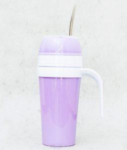 Mates autocebante de Plástico color violeta claro