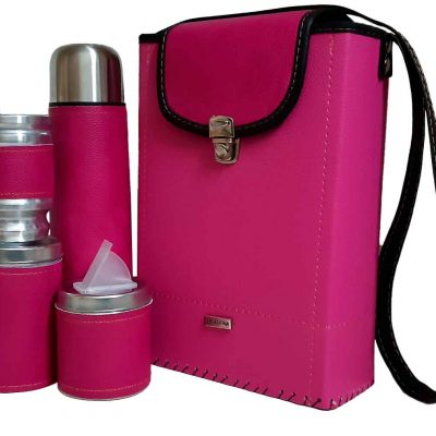 Set de mate por mayor coleccion Tami color fucsia