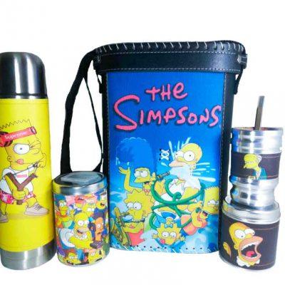 Set matero con diseño de Los Simpsons colección FARTU