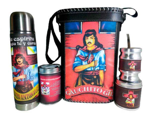 Set matero con diseño de Gauchito Gil colección FARTU