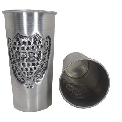 Vaso de aluminio del Club Boca Junior