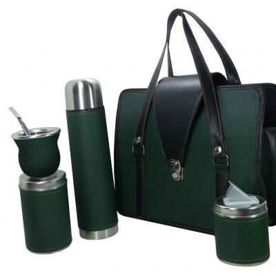 Set matero color Verde liso colección JACK