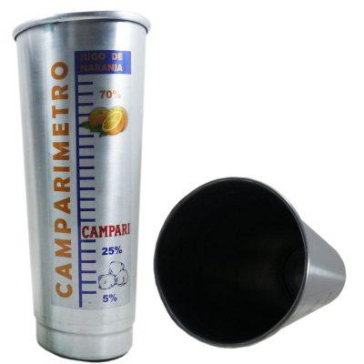 Vaso de aluminio Camparimetro
