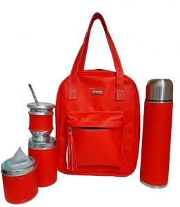 Set matero color rojo colección Luli