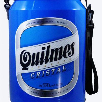 Conservadora con diseño de Quilmes