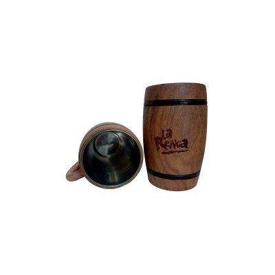 Chopera de madera con grabado laser La Renga