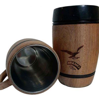 Chopera de madera con grabado laser de Branca