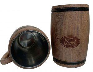 Chopera de madera con grabado laser de Ford