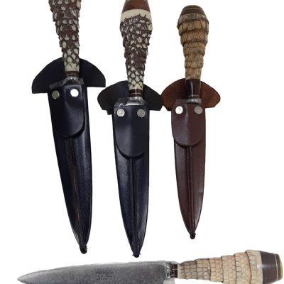 Cuchillos regionales de distintas medidas