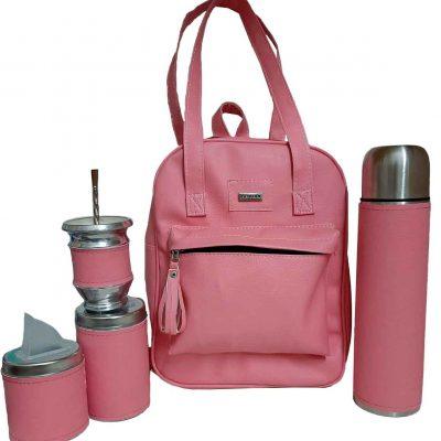 Set matero color rosado colección Luli