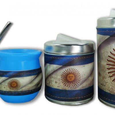 Set de 3 piezas diseño de Argentina