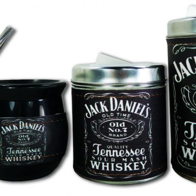 Set de 3 piezas diseño de Jack Daniels