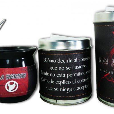Set de 3 piezas diseño de La Beriso