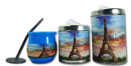 Set de 3 piezas diseño de Paris