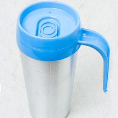 Vaso termico cafe mug color azul