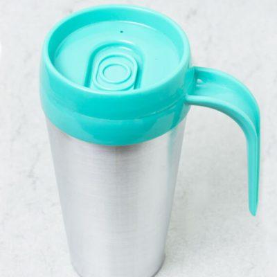 Vaso termico cafe hug color celeste