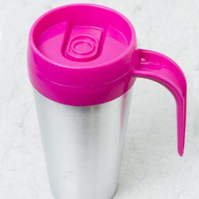 Vaso termico cafe mug color fucsia