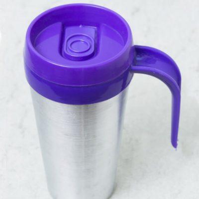 Vaso termico cafe mug color violeta