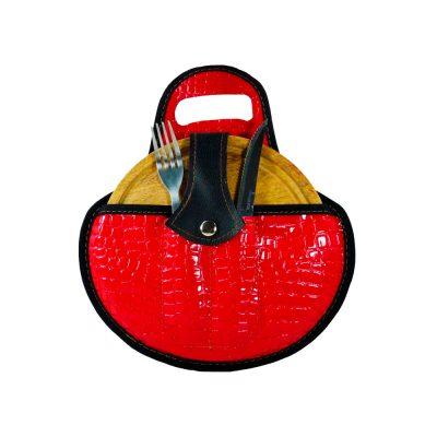 Venta de set de asado croco rojo por mayor