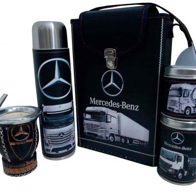 Set matero con diseño de Mercedes Benz