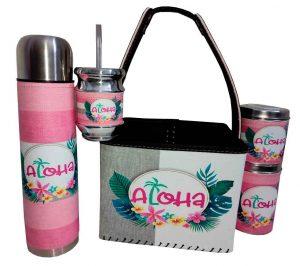 Set matero con canasto diseño de Aloha