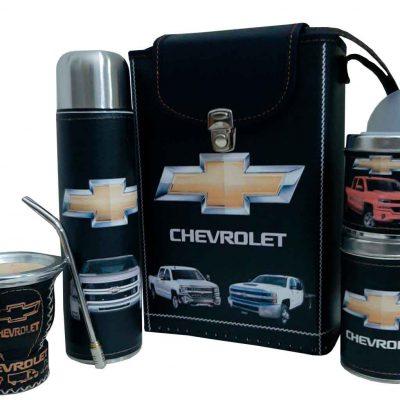 Set matero con diseño de Chevrolet