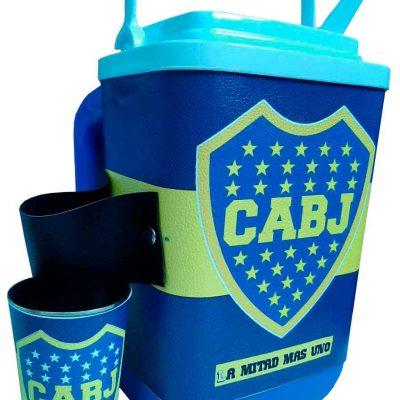 Set de terere con diseño de Boca Juniors