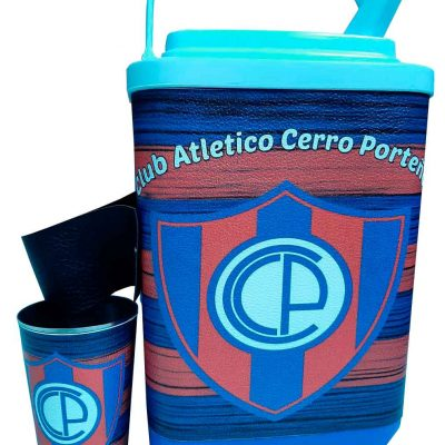 Set de terere con diseño de Cerro Porteño
