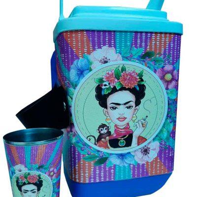 Set de terere con diseño de Frida Kahlo