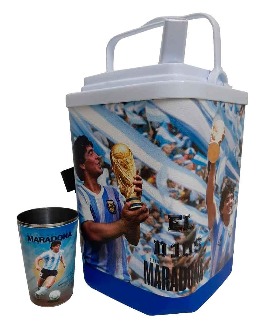 Set de terere con diseño de Maradona