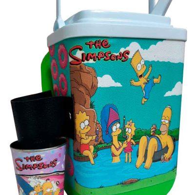 Set de terere con diseño de Simpsons