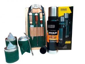 Set de asado Stanley verde